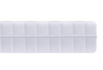 7-Zonen Härtegrad H2 H3 (Weiß) Matratze, Orthopädische Kaltschaummatratze, Rollmatratze, Öko-Tex, Bezug waschbar, 4-Seiten-Reißverschluss -