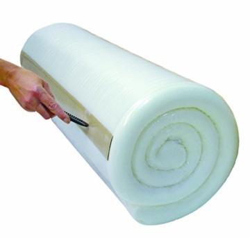 Badenia Bettcomfort 3887860132 Roll-Komfortmatratze, Trendline BT 100 H2 100 x 200 cm, weiß -