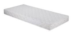 Badenia Bettcomfort 3887860143 Roll-Komfortmatratze, Trendline BT 100 H2 140 x 200 cm, weiß -
