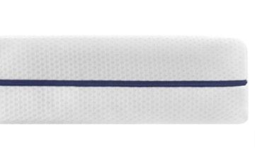 Traumnacht 03890460128 Orthopädische Kaltschaummatratze Härtegrad 3 (H3), 90 x 190 cm, weiߟ -