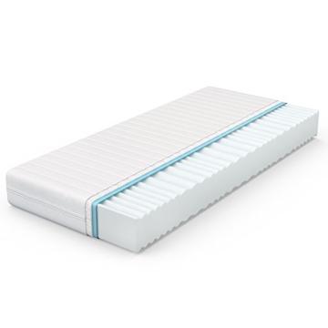 VitaliSpa® Calma Comfort Plus 7 Zonen Premium Kaltschaum Matratze (160 x 200 cm, H2 - 7 Zonen) -